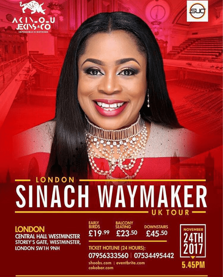 Sinach Waymaker lyrics