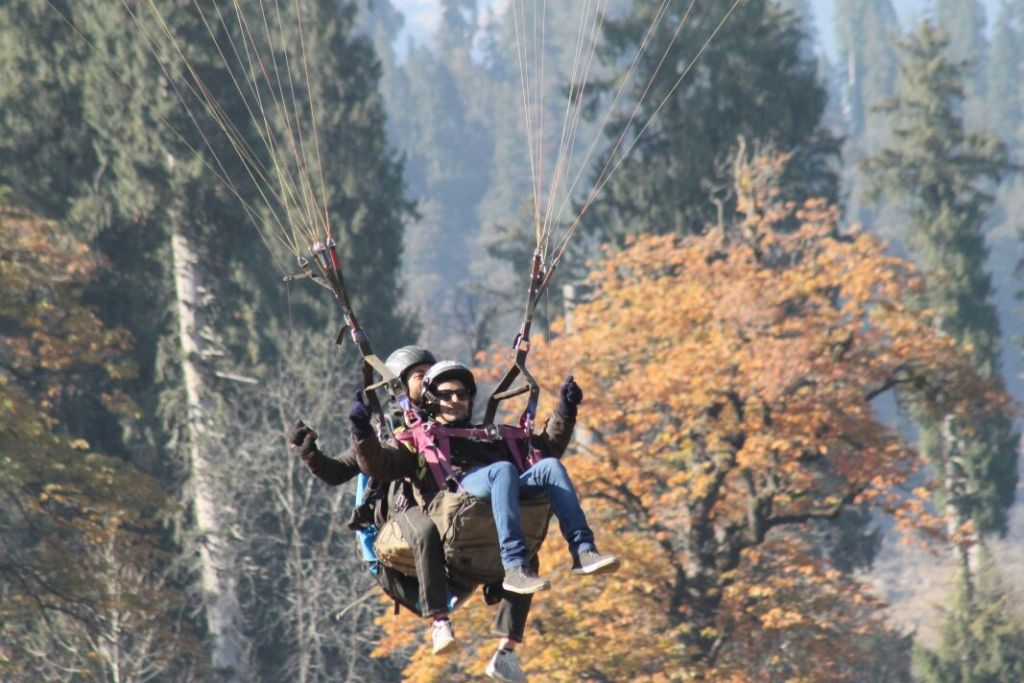 Paragliding-Solang Valley