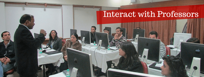 Interact with your Professors at EMPI