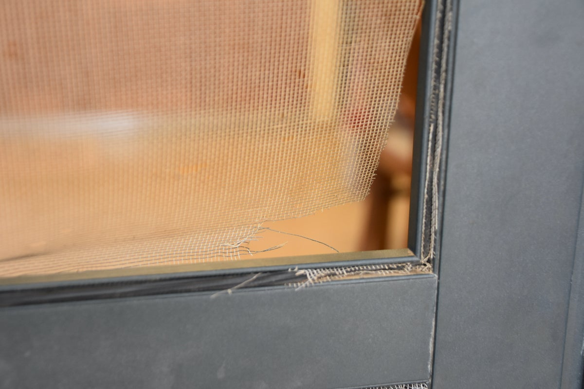 how to repair a screen door in 5 easy steps