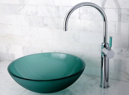 bathroom sinks that rise above the rest