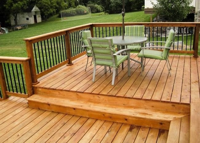 best wood to use for building a deck