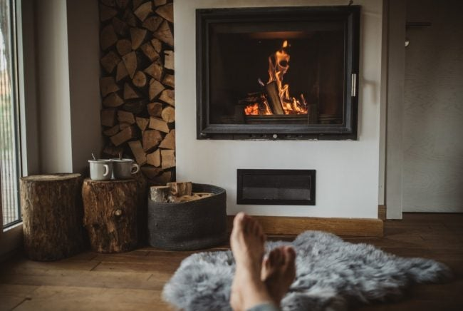 how to start a fire in a fireplace the