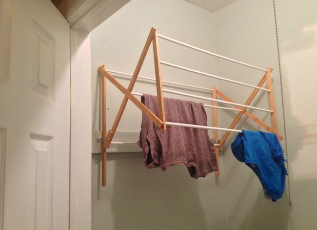 diy drying rack genius bob vila