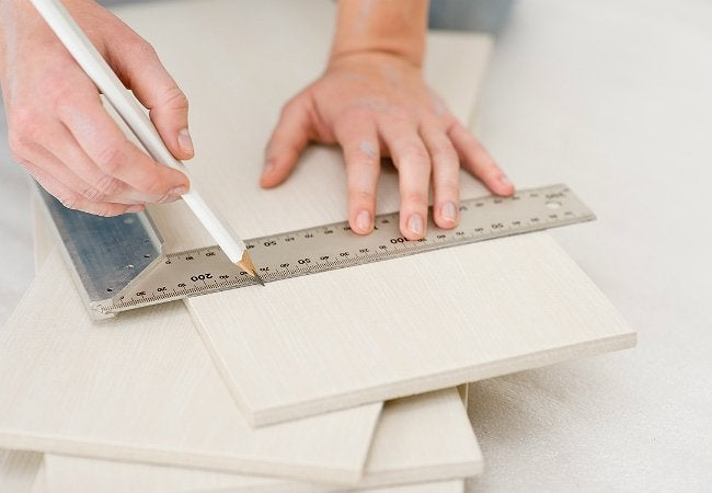 how to cut ceramic tile project