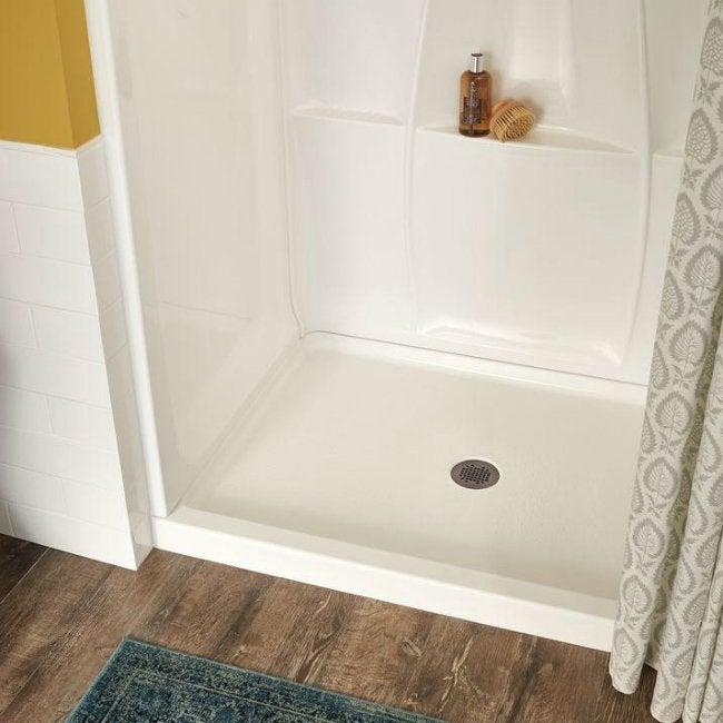 how to install a shower pan bob vila