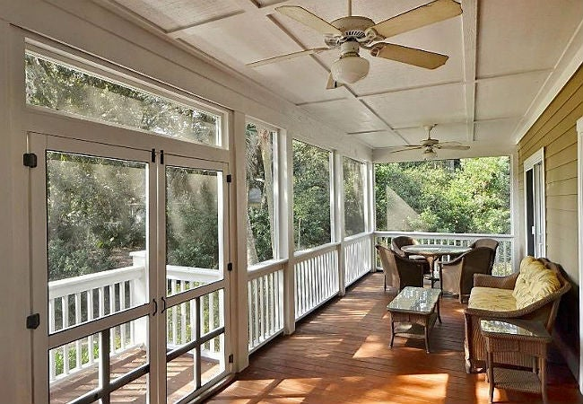 how to screen in a porch and what to