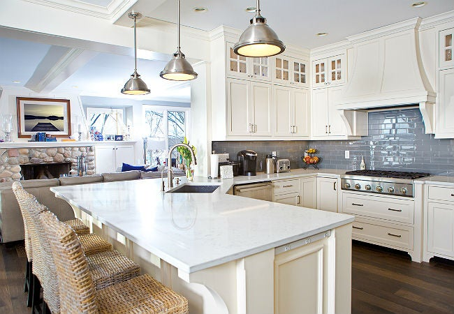 how a kitchen peninsula can benefit