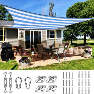 the best shade sail options for the