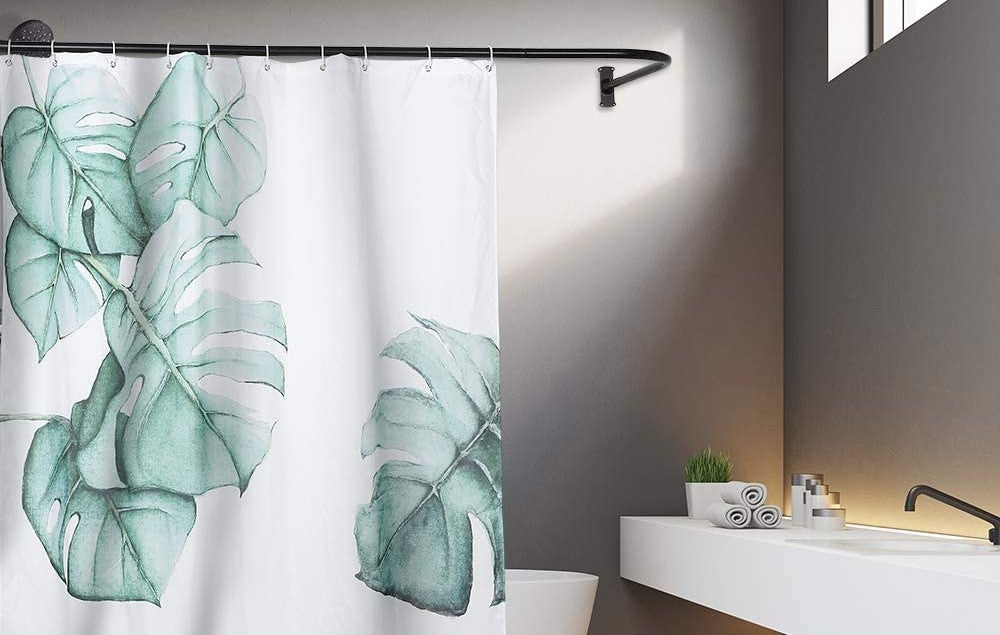 the best shower curtain rod options for