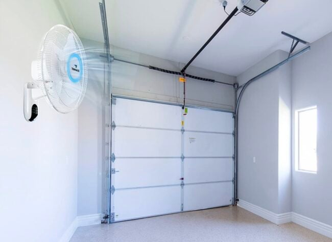 the best garage fan options for cooling