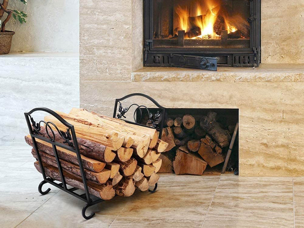 the best firewood racks for indoors and