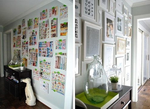 how to hang a picture 5 clever tips