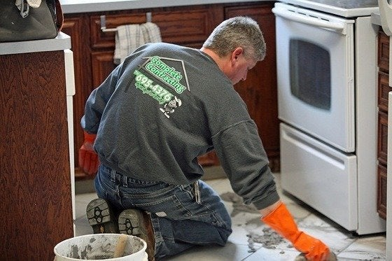 how to install tile bob vila