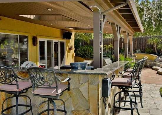 california decor ideas for outdoor
