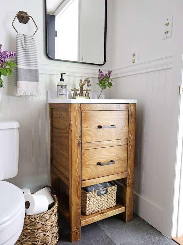 diy bathroom vanity 12 bathroom