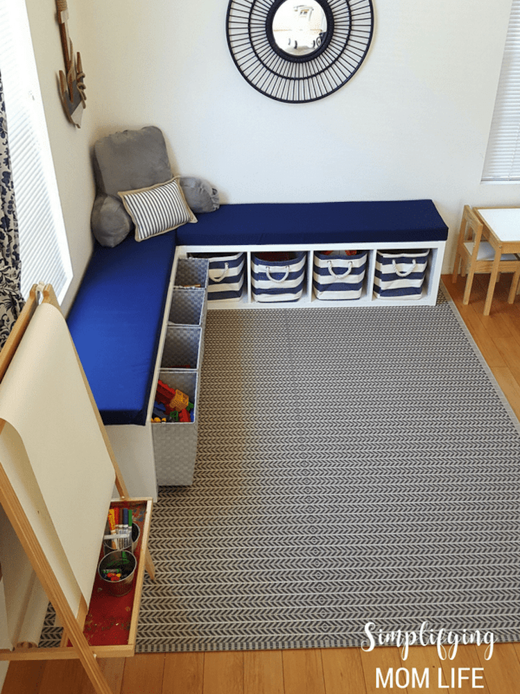 20 diy storage benches you can make