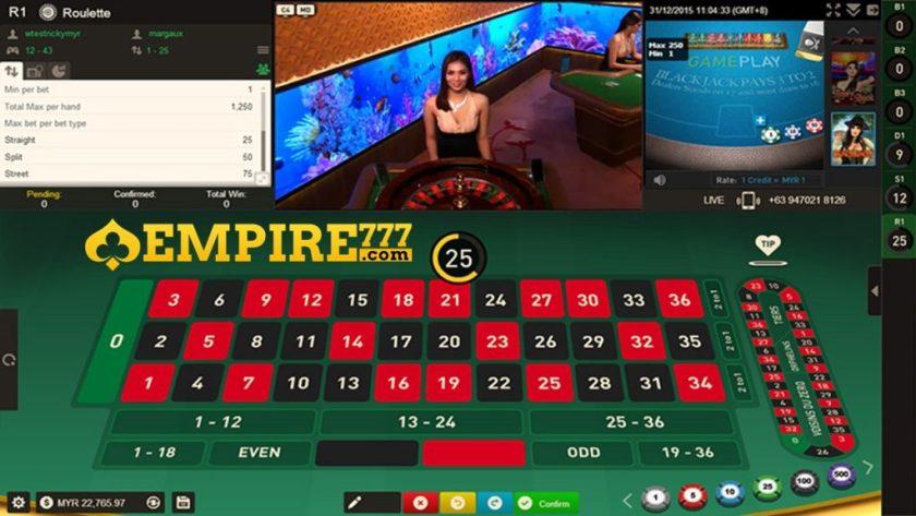 Roulette Online Casino Malaysia Empire777