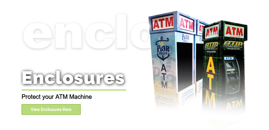 ATM Enclosures from Empire ATM Group, shop online at empireatmgroup.com . Custom branding and graphic design available.