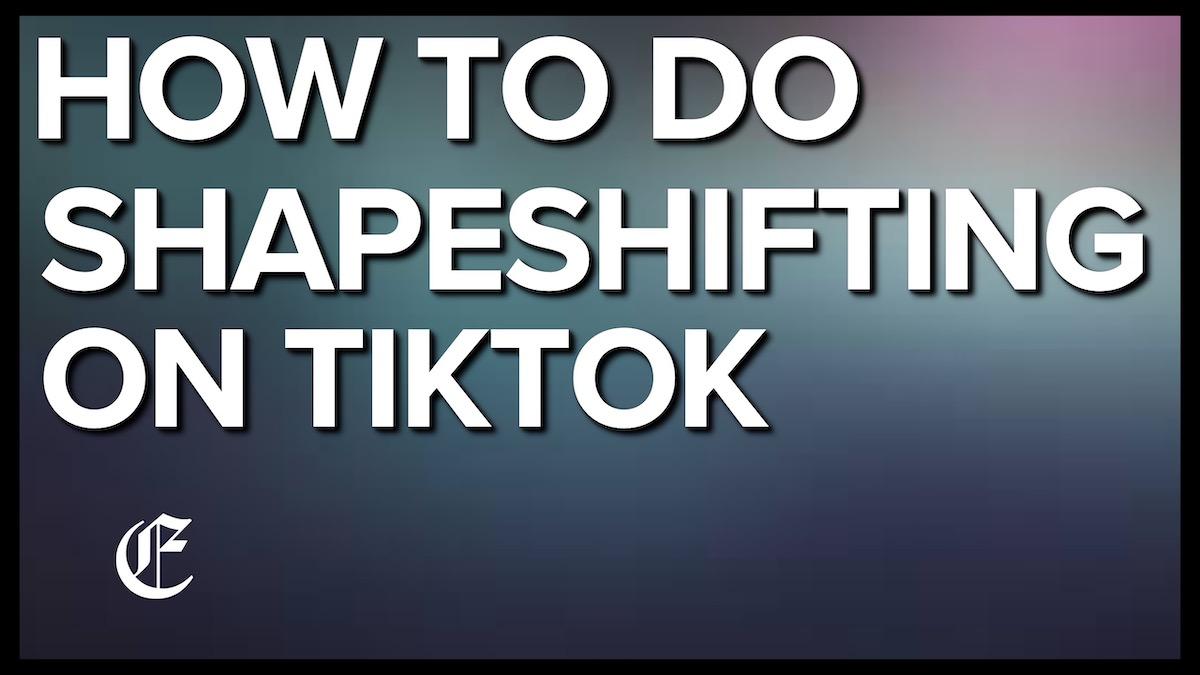 How To Do Shapeshifting Effect On TikTok – Marvel Avengers, Harry Potter Character Grids