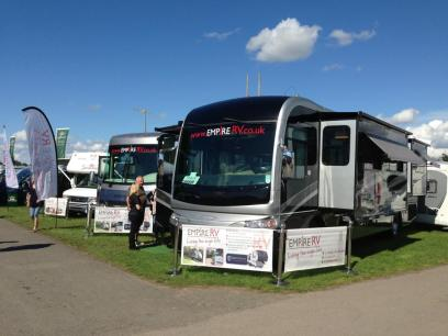 RVs for rent at Glastonbury - Empire RV