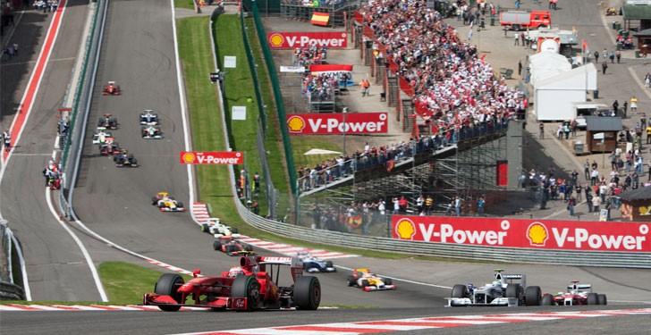 (c) Belgian Grand Prix - motorhome hire Empire RV