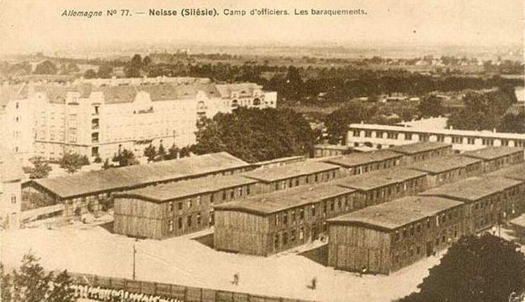 Ilustracja 2. Obóz dla oficerów z okresu I wojny światowej.