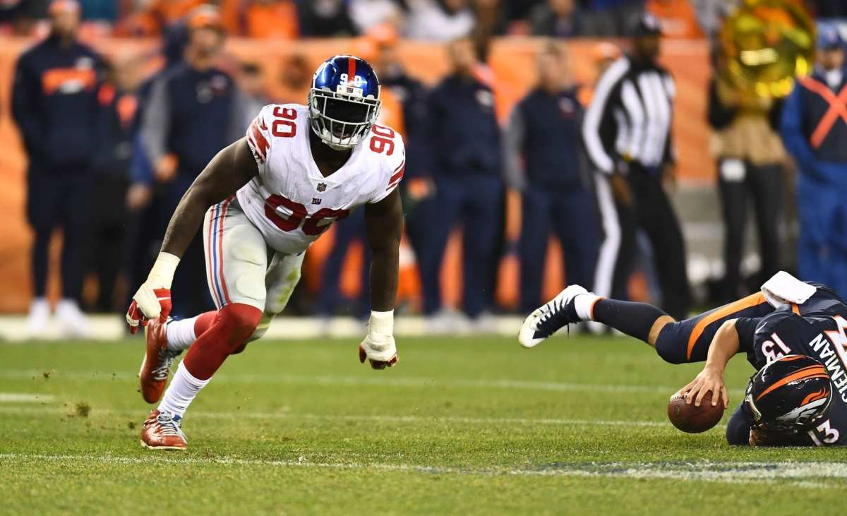 BREAKING: New York Giants Trade Iconic Defensive Lineman To Buccaneers