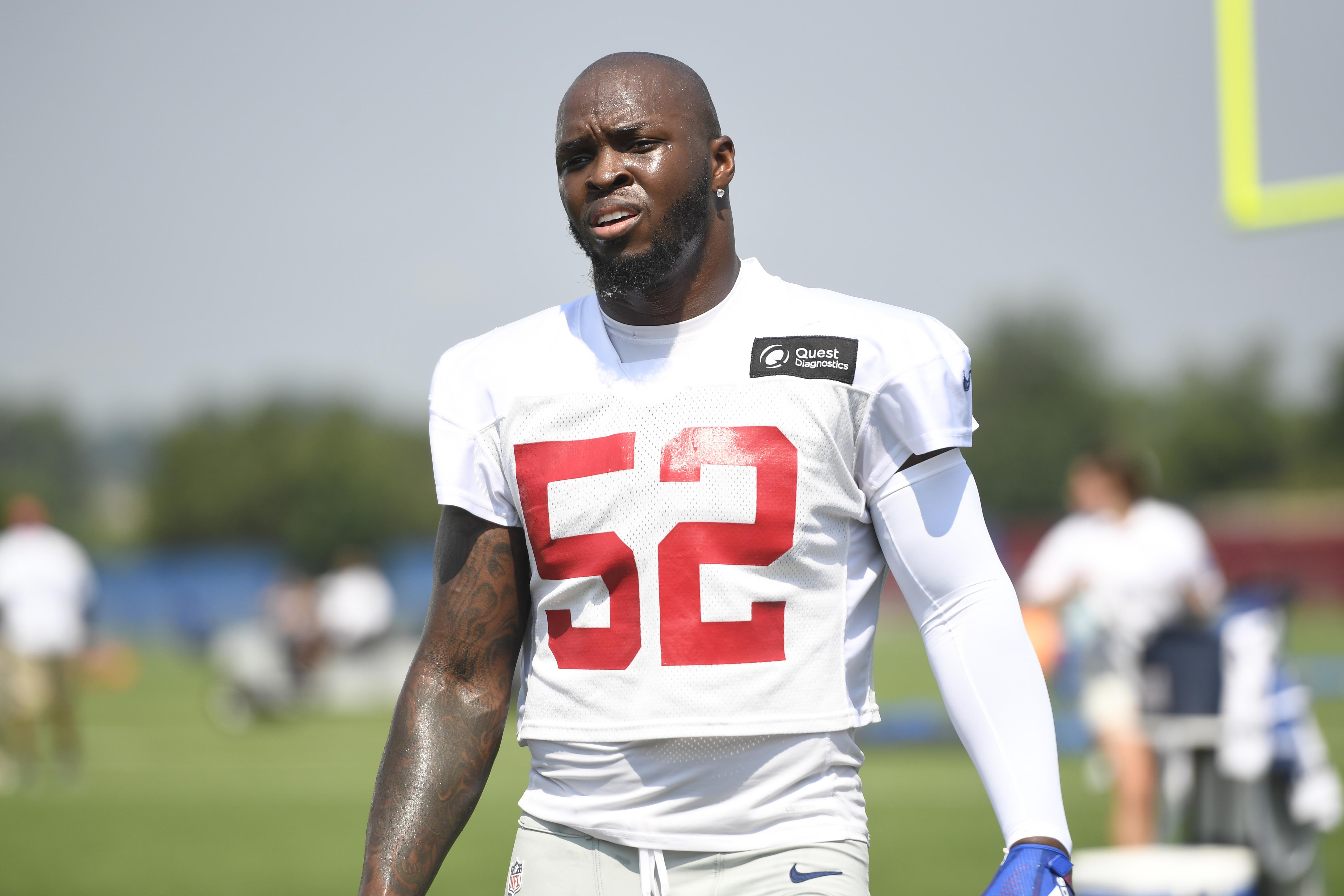Alec Ogletree Georgia should the new york giants retain lb alec ogletree after the
