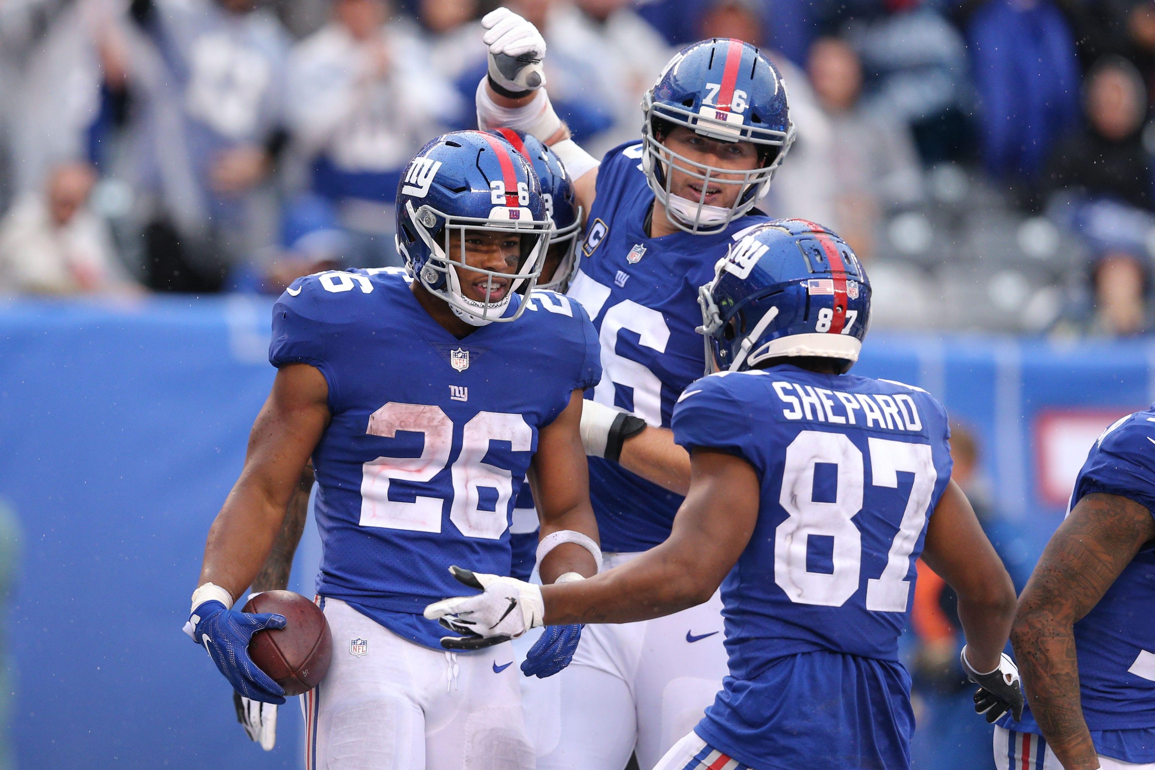 New York Giants, Sterling Shepard, Saquon Barkley
