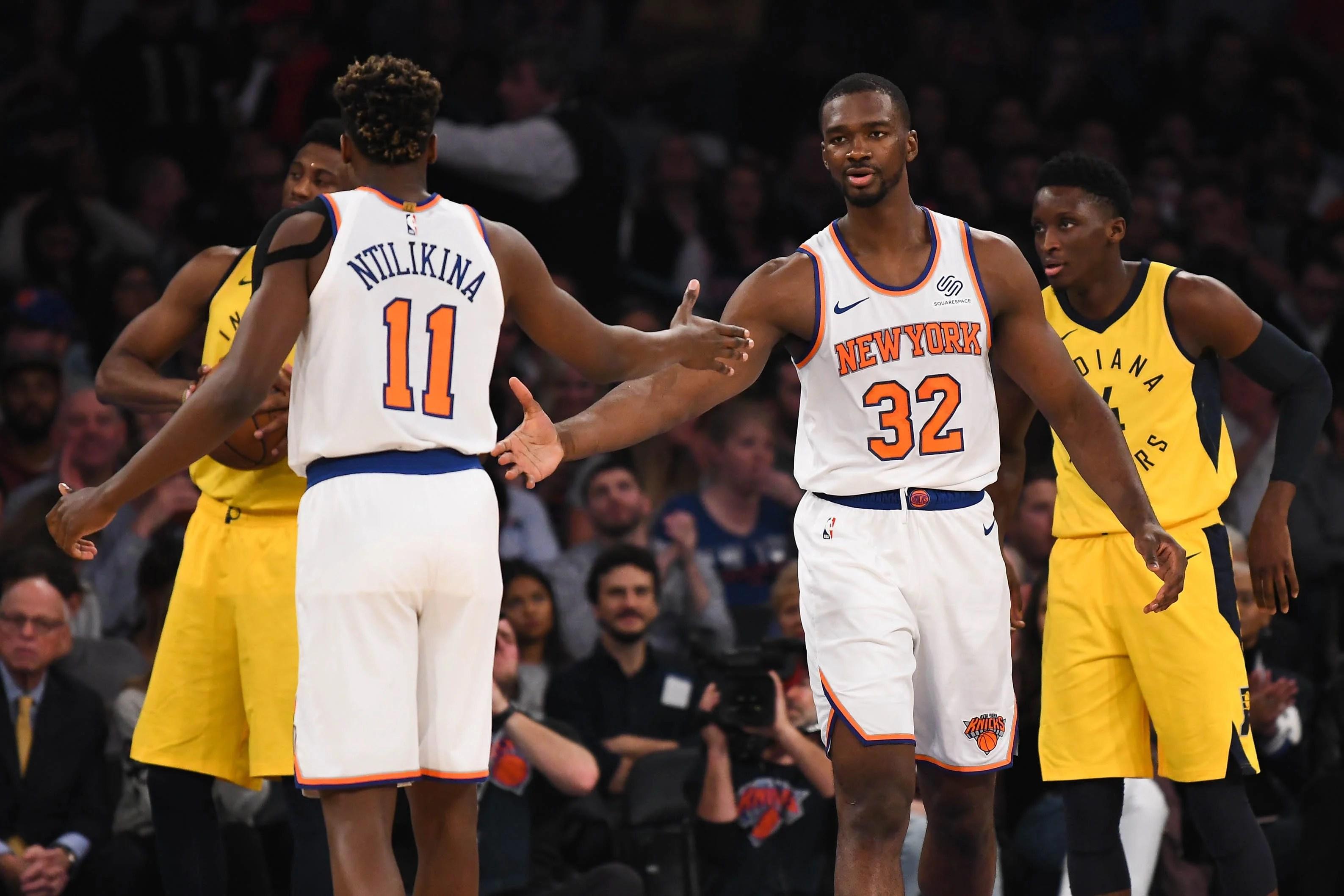 New York Knicks, Noah Vonleh, Frank Ntilikina
