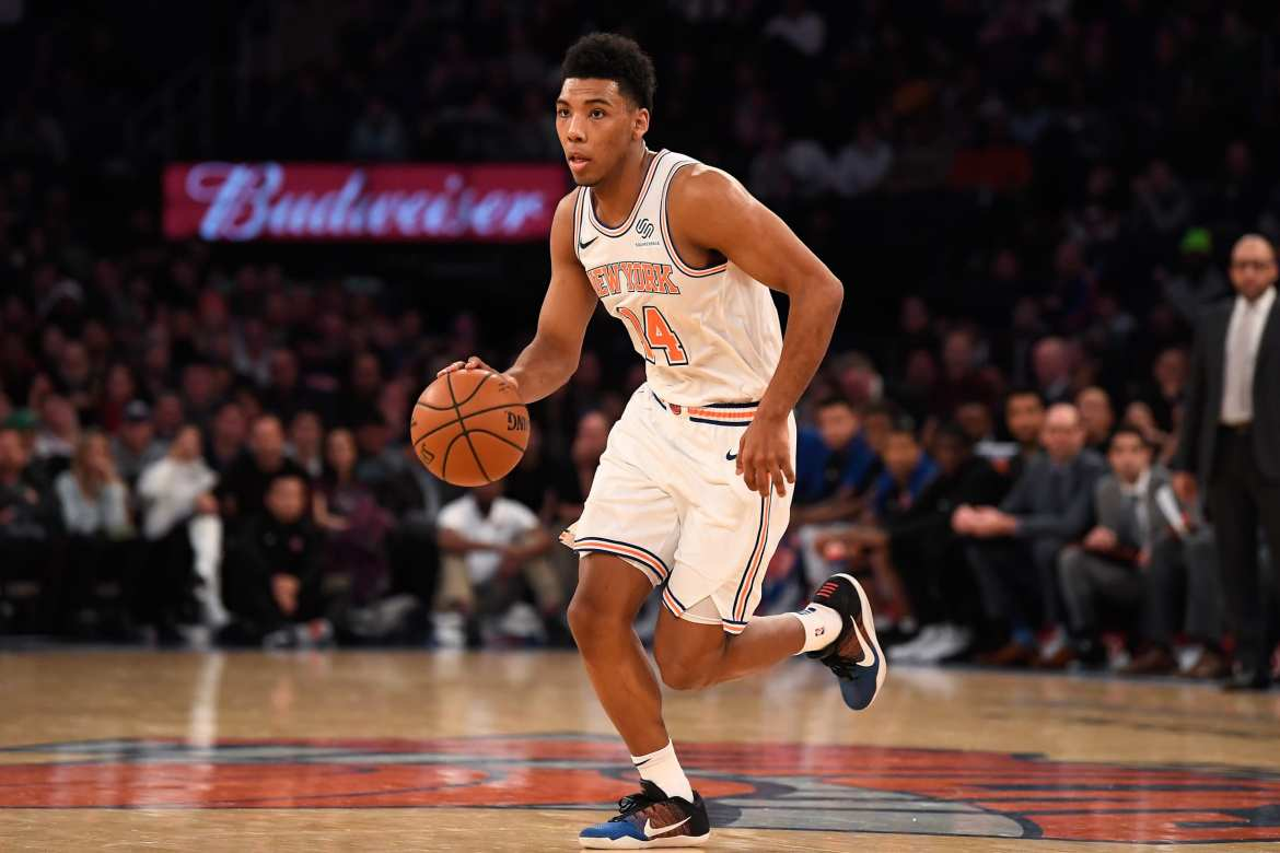 New York Knicks, Allonzo Trier