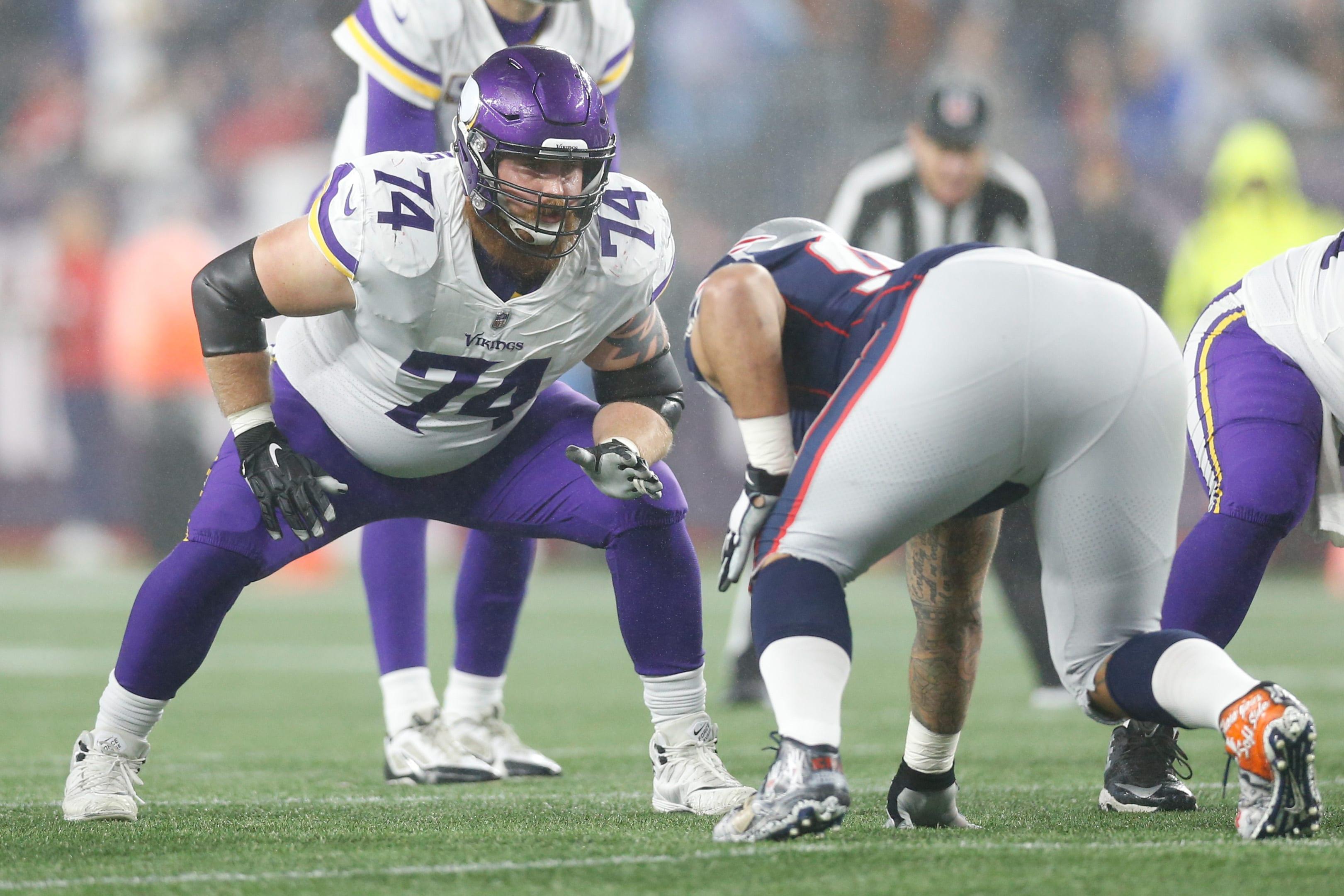 New York Giants, Mike Remmers, Minnesota Vikings