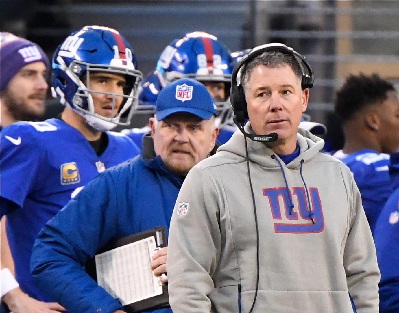 New York Giants, Pat Shurmur, James Bettcher