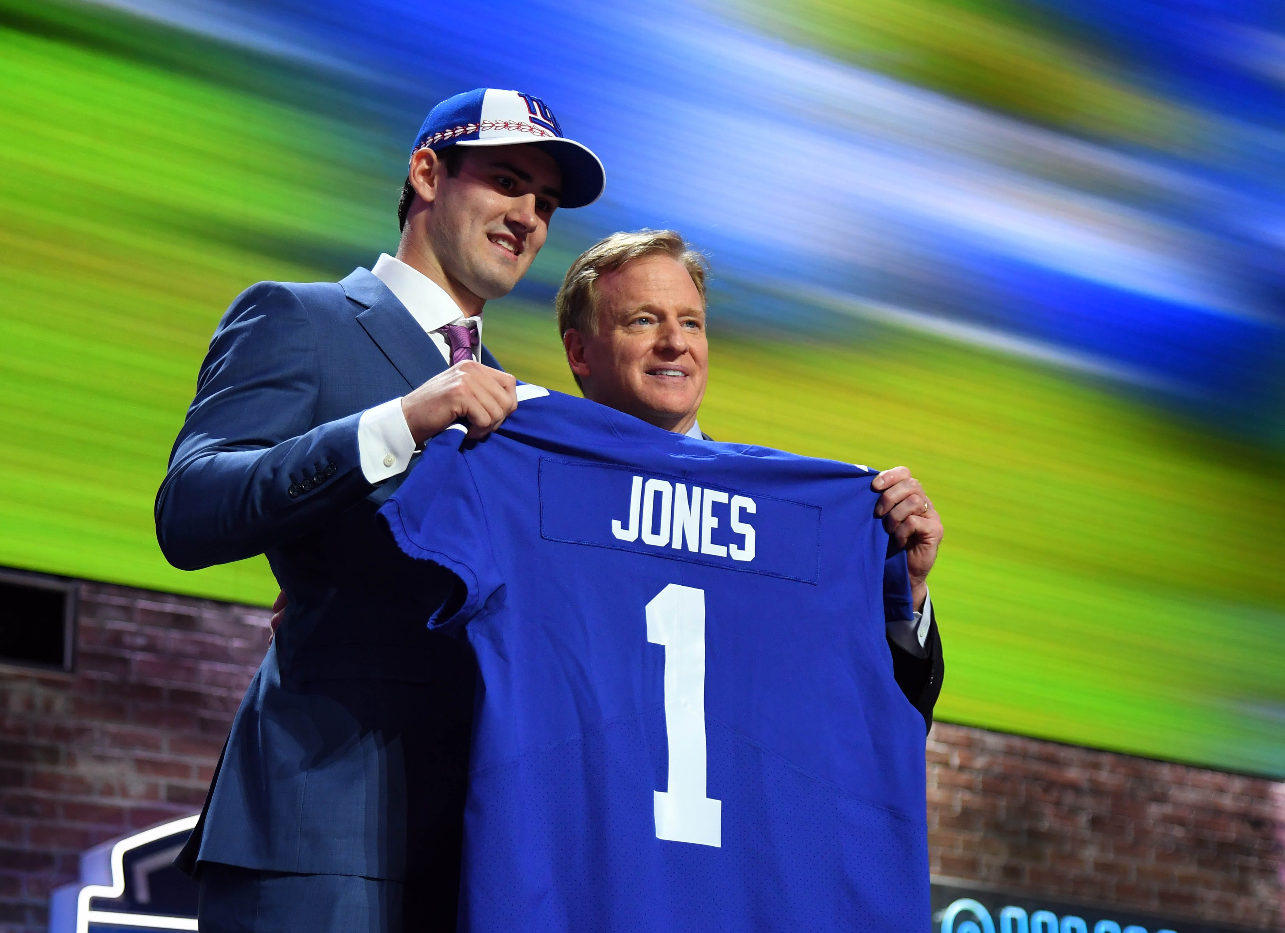 6b5c4a6a6 New York Giants Attempted Trade To No. 10 After Jones Pick –