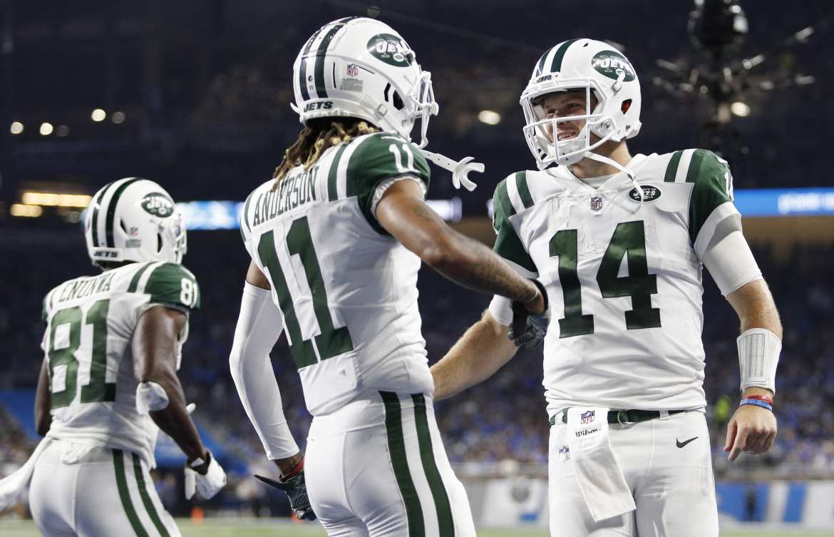 New York Jets, Robby Anderson, Sam Darnold
