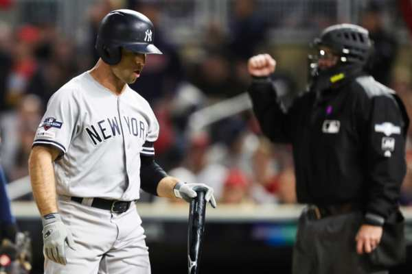 New York Yankees: Aaron Boone made horrific mistakes in game three batting order