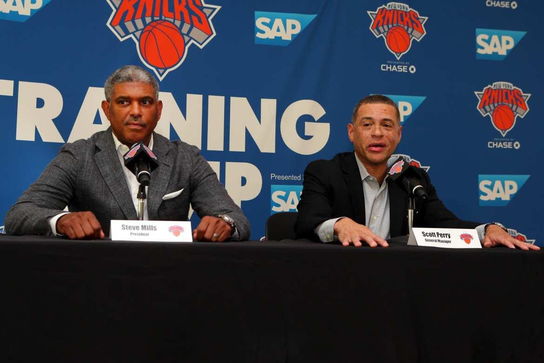 New York Knicks, Scott Perry, Steve Mills