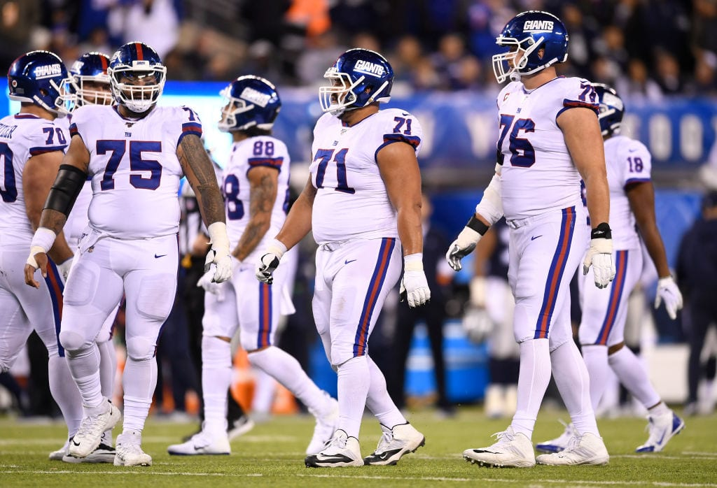 New York Giants, Nate Solder, Jon Halapio, Mike Remmers
