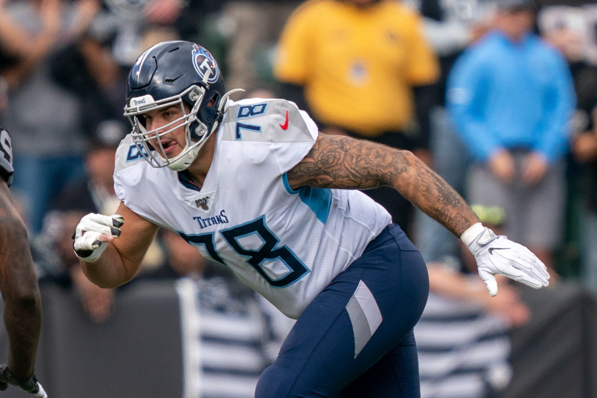 New York Giants, Tennessee Titans, Jack Conklin