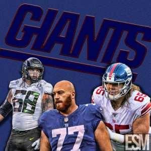 New York Giants, Spencer Pulley, Jon Halapio, Nick Gates