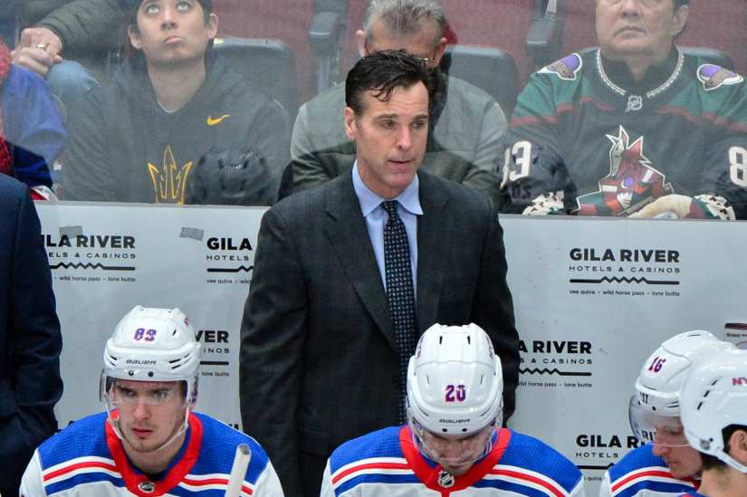 New York Rangers HC David Quinn excited about playing in a playoff series