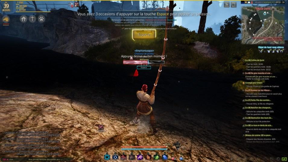 BDO tuto pêche