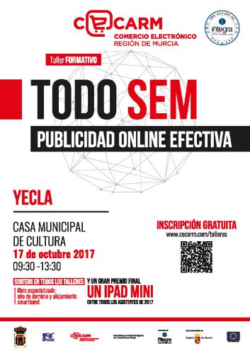 """Taller formativo """"Todo SEM. Publicidad on-line efectiva"""""""