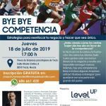 """Conferencia """"By, bye, competencia"""", para empresarios y autonomos."""