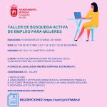 """Taller de """"Búsqueda activa de empleo para mujeres"""" - Igualdad y  Mujer"""