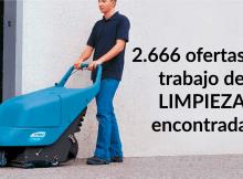 2.666 ofertas de trabajo de LIMPIEZA encontradas