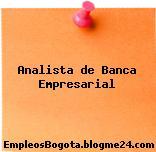 Analista de Banca Empresarial