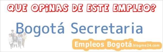 Bogotá Secretaria