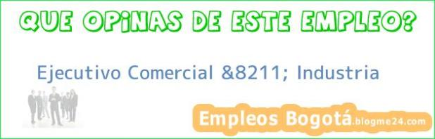 Ejecutivo Comercial &8211; Industria